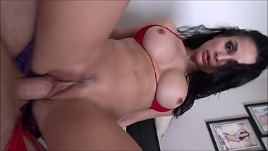 Big Boobed Cheating Wife Fucks Guy From Tinder - Crystal Rush