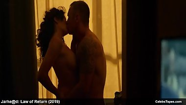 Hot actress Shanti Ashanti nude and bikini in movie