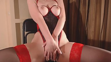 Hard orgasm from BDSM girl full video