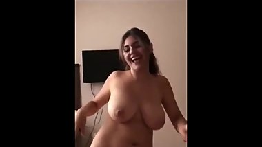 gorgeous Turkish woman with big tits. great