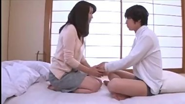 Japanese Mother Need Stepson Cock