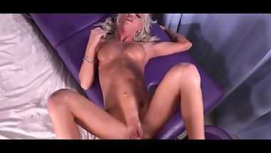 Sexy blonde MILF likes to fool around