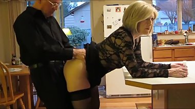 Taboo! Stepson with big cock fucks hard his mature stepmom in the ass