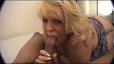 Amateur MILF April loves black cock