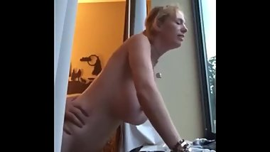 Busty mature stepmom enjoying hardcore anal sex with stepson