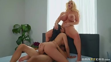 Brazzers - Stepmoms Need Loving Too! [FULL SCENE LNK]
