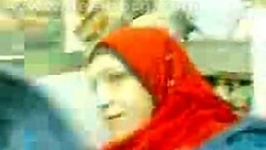 egyptian girl Red Hijab pussy oozing out cum