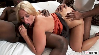 Slutwife BBC Creampie Gangbang in Hotel as Hubby Records